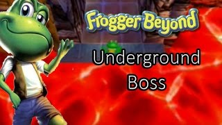 Frogger Beyond Underground Boss