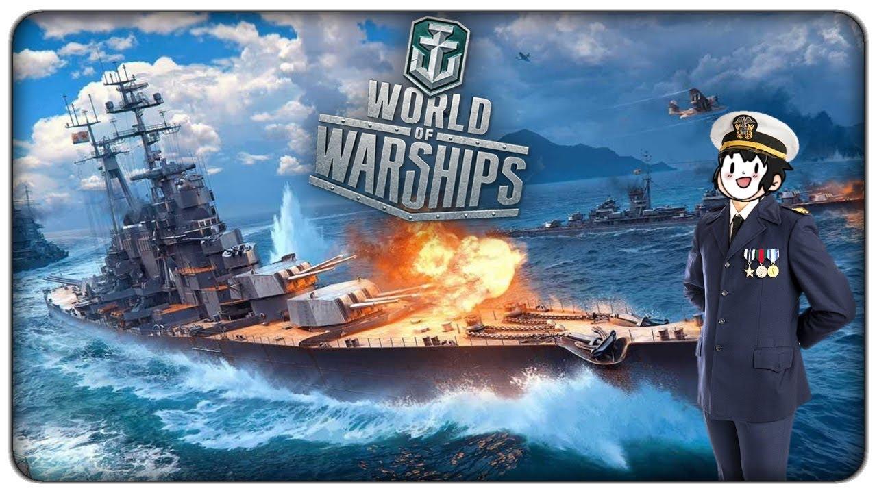 TORNIAMO A COMBATTERE IN MARE CON OLTRE 400 NAVI DA GUERRA - World of Warships (gratis)