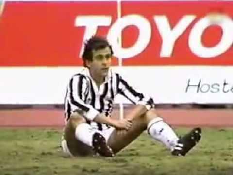 Michel Platini - Juventus vs Argentinos jr - Finale Coppa Intercontinentale (1985)