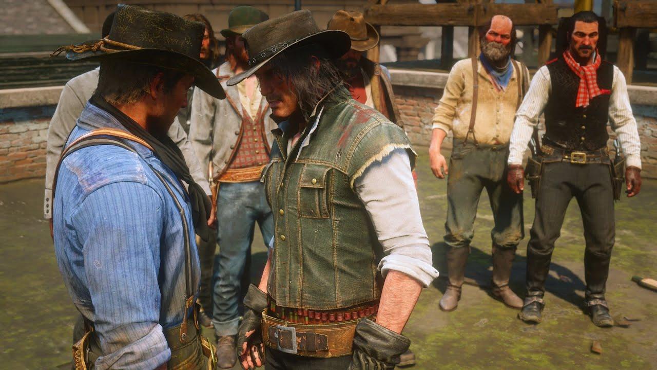 Download Gunslingers Tournament Duel Mod Dutch's Gang RDR2 NPC Fights Mod