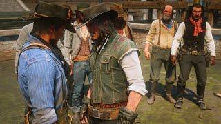 Gunslingers Tournament Duel Mod Dutch's Gang RDR2 NPC Fights Mod