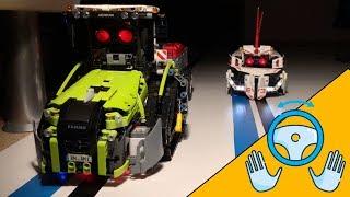 SELF DRIVING car, tractor, truck Lego Mindstorms EV3