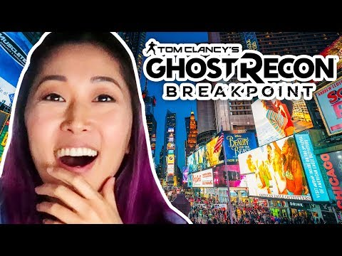 Ghost Recon: Breakpoint Looks INSANE | NYC Vlog