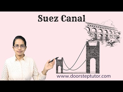 Suez Canal: Geography, History - Suze Crisis, Port Said, Por