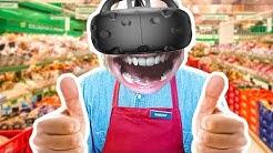 MUN EKA VR VIDEO!! | Pelataan Job Simulator