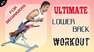 ULTIMATE LOWER BACK WORKOUT || ಇಗ್ನಿಸ್ ಫಿಟ್ನೆಸ್ || Body Transformation Specialist