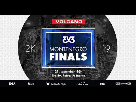 3X3 MONTENEGRO FINALS 2K19 21.09. DRUGI DIO