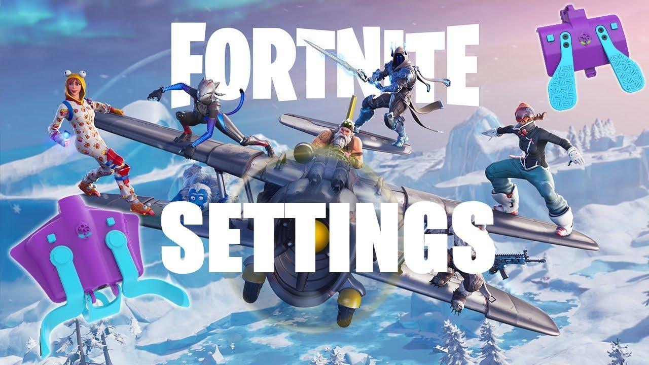 Best Settings For Fortnite (Strike Pack F P S Dominator)
