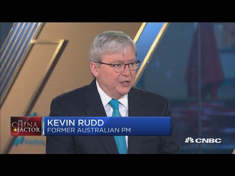 US-China trade talk issues now about who 'loses face': Asia Society's Kevin Rudd