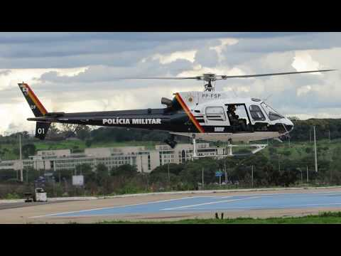 AS 350 B2 / PP-FSP / PMDF-DF / FÊNIX 01 (Federal District Military Police) #V75