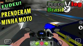 Tentei da fuga na polícia no moto vlog Brasil - Deu ruim!