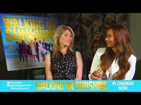 Hannah Arterton & Leona Lewis Interview Clip: Did you have fun making the film? [Vertigo Films]