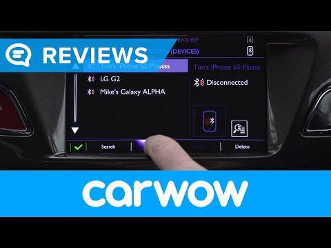 DS 3 (Citroën) Hatchback 2018 infotainment and interior review   Mat Watson Reviews