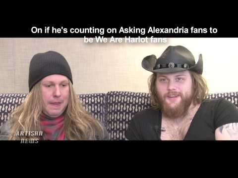 DANNY WORSNOP DISCUSSES ASKING ALEXANDRIA EXIT, NEXT SINGER, WE ARE HARLOT