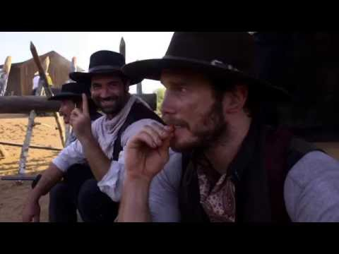 The Magnificent Seven: Chris Pratt Behind the Scenes Movie Featurette