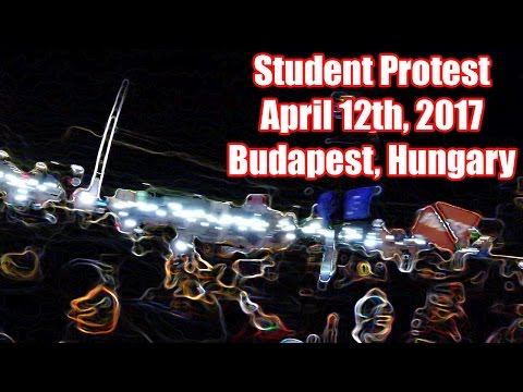 ZinsWorld Student Protest; Oktogon and Steps of Parliament, Budapest