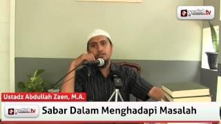 Tausiyah Islam: Melatih Diri untuk Bersabar - Yufid TV