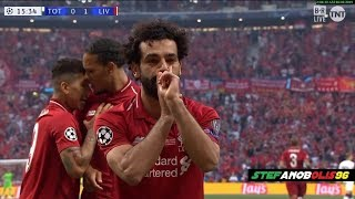 Liverpool Vs Tottenham 2-0 ⚽ Mohamed Salah Goal ⚽ Champions League Final Madrid 2019 ⚽ HD