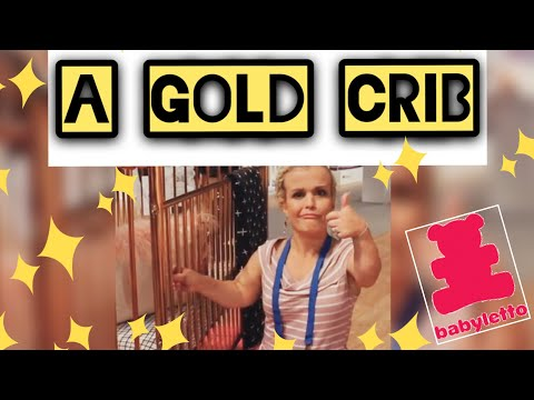 A GOLD CRIB - Baby Letto - ABC Kids Expo Las Vegas 2017