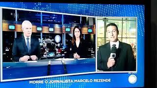 Morre o apresentador Marcelo Rezende.
