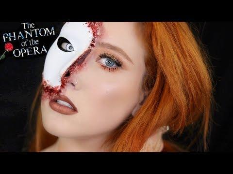 Phantom Inspired Halloween Makeup