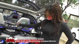monse castellanos presenta autos tuning de san pablo huixtepec