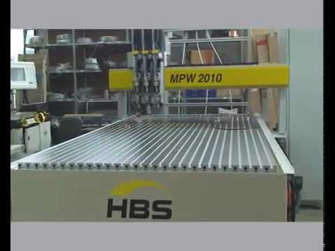 HBS CNC stud welding machine MPW 2010 with 3x welding heads, 3 motor driven axes
