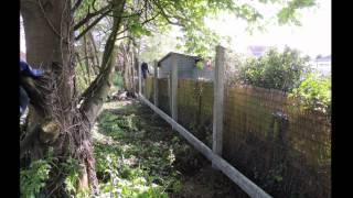 Slideshow Of Concrete Post & Feather Board Fence Installed In Elmswell