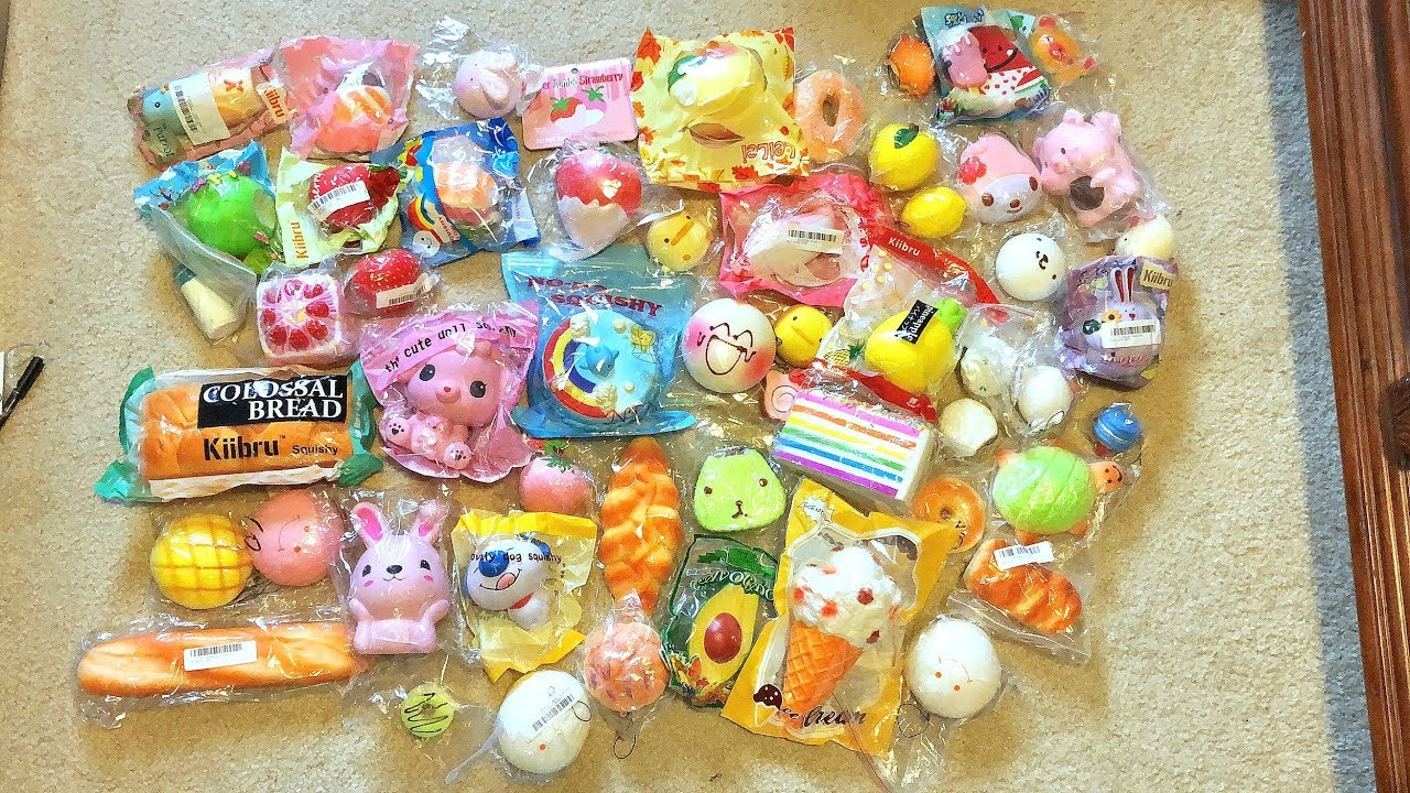 Squishy Giveaways : BIGGEST SQUISHY GIVEAWAY EVER (6 WINNERS!) - YouTube