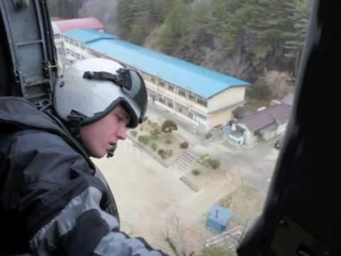 US Military Helps Tsunami Victims - Operation Tomodachi (friend)