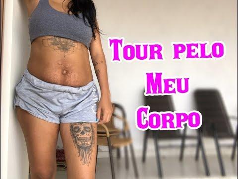 TOUR PELO MEU CORPO | Priih Gama