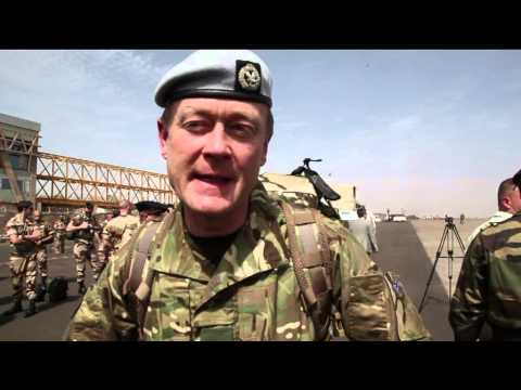 Advance party of EUTM Mali arrives in Bamako