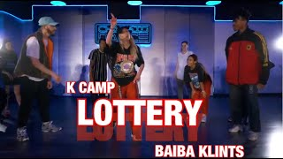 K Camp - Lottery | Chapkis Dance | Baiba Klints Choreography