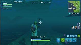 Fortnite under the map accidental glitch