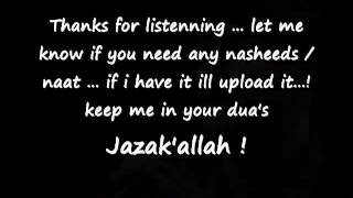 Maher Zain   Allahi Allah Kiya Karo Lyrics are in description box]