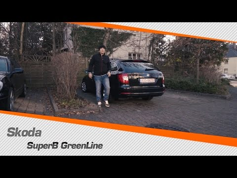 Skoda Superb GreenLine из Германии