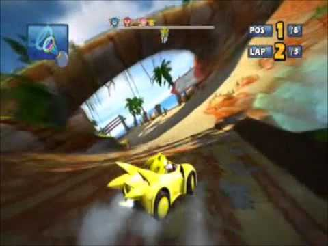 Sonic and sega all stars racing pc download free