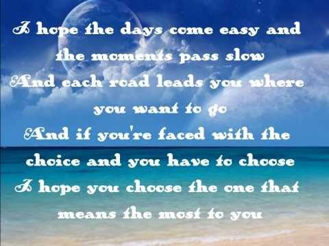 Happy Birthday MU - My Wish by Rascal Flatts