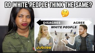 DO WH!TE PEOPLE THINK THE SAME? REACTION| Thee Mademoiselle ♔
