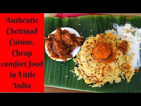 "A Hidden Gem ""Chettynad Curry Palace"" in Little India, Singapore - Food Vibrations #9"
