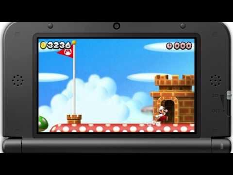 New Super Mario Bros. 2 - (Nintendo 3DS) -  Trucos y consejos para Fiebre del oro