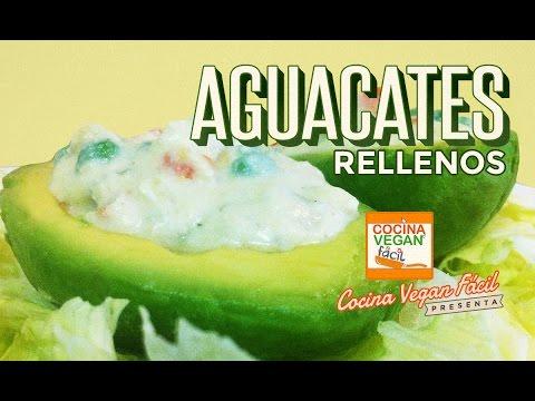 Aguacates rellenos  Cocina Vegan Fcil Reeditado  YouTube