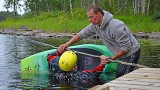 Утята (Лиекса, Ruunaa, Neitikoski, 5-7.07 и 12-14.07.2013). Freestyle kayaking.
