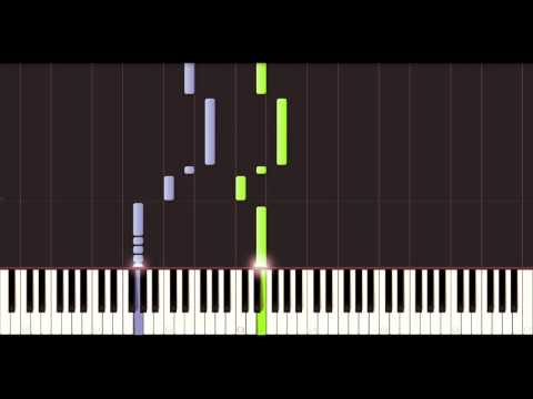 Taps - Butterfield [piano tutorial] [60 fps]
