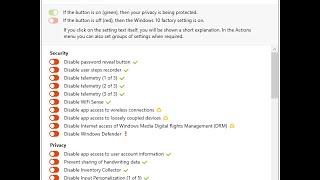 O&O ShutUp10 для відключення стеження в Windows 10