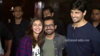Kapoor & Sons (2016) HIT - Alia Bhatt - Siddharth - Fawad Khan - Audience REACTION - PVR Juhu