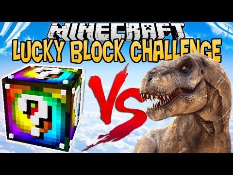 SPIRAL LUCKY BLOCK VS T-REX ! | LUCKY BLOCK CHALLENGE |[FR]