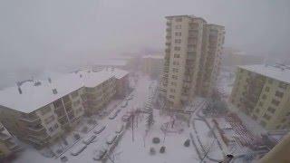 21.01.2016 Ankara Kar Yağışı - Gopro 4 Black