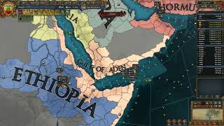 #21 - EU4 - Etiópia tomando a Itália! A volta da brutalidade