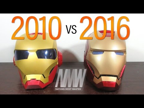 Hasbro Iron Man 2 VS Marvel Legends Iron Man Helmet